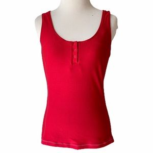 Nike Red Athletic Halter Top